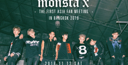 Monsta X, The First Asia Fan Meeting in Bangkok 2016