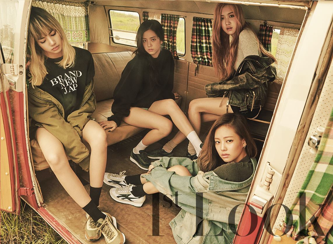 BLACKPINK X 1st LOOK Magazine Photo Shoot with REEBOK